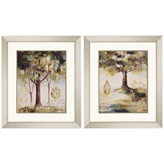 "Set of 2 Hopes III & IV Framed 29"" High Wall Art   #K2714"