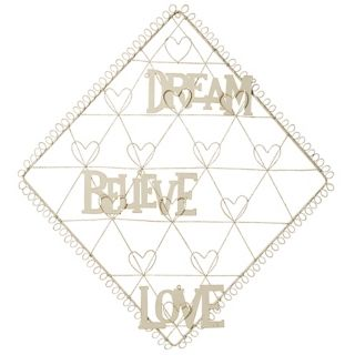 Diamond with Hearts Dream, Believe, Love Card Holder   #N6949
