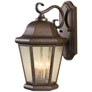 """Murray Feiss Martinsville 17"""" High Outdoor Wall Lantern   #R1368"""