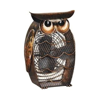 Owl Figurine Decorative Desk Fan   #H7817