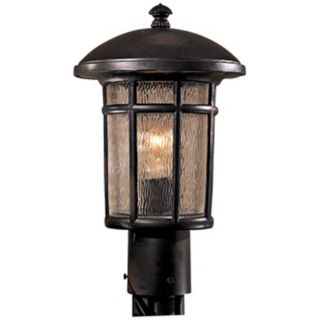"Cranston Collection 14 3/4"" High Post Mount Outdoor Light   #G3834"