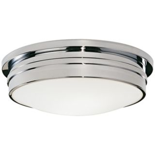"Roderick Collection Chrome 17"" Wide Flushmount Ceiling Light   #K1143"