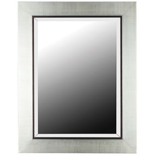 """District Silver Finish 38"""" High Wall Mirror   #T5052"""