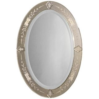 "Uttermost Donna Oval 32"" High Wall Mirror   #H6730"
