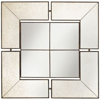 "Kichler Glenn Collection Antique 30"" Square Wall Mirror   #T5142"