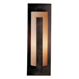"""Hubbardton Forge Vertical 19"""" High Outdoor Wall Light   #75208"""