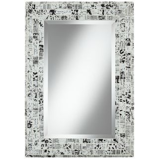 """Lettergraph 33"""" High Mosaic Wall Mirror   #W8578"""