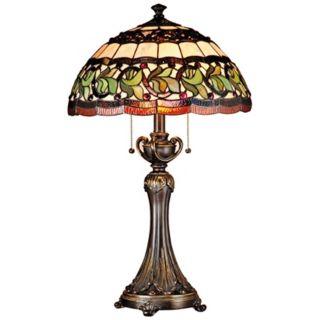 Dale Tiffany Aldridge Art Glass Table Lamp   #K1855