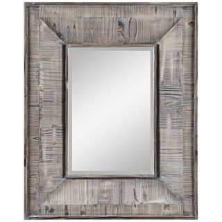 "Cooper Classics Avery 30"" High Rectangular Wall Mirror   #X7059"