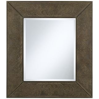 "Uttermost Fleur de Lys Metal 34"" High Wall Mirror   #U0160"