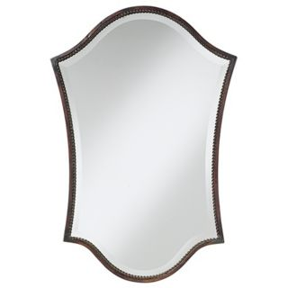 "Uttermost Abra Bronze Finish 29"" High Wall Mirror   #79416"