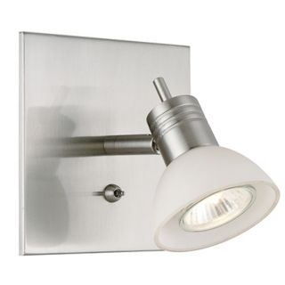 Modo Collection Brushed Steel Wall Sconce   #95399