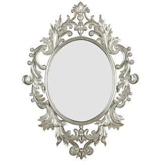 """Fabled Elegance 38"""" High Wall Mirror   #T5018"""