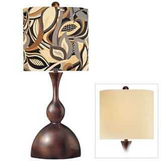 Ambience Collection Double Shade Table Lamp   #P9961