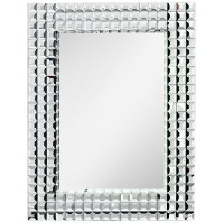 "Kichler Bling 38"" High Rectangular Wall Mirror   #X5781"
