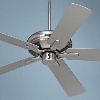 "52"" Casa Vieja Paseo ENERGY STAR Nickel Ceiling Fan   #U9637"