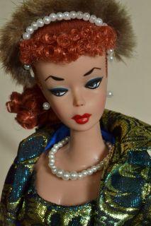 OOAK 1 Ponytail Vintage 1960 Barbie Doll by Juliaoriginals Titian