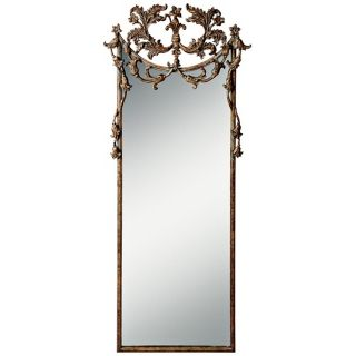 "Kichler Broussard 73"" High Decorative Gold Wall Mirror   #X5837"