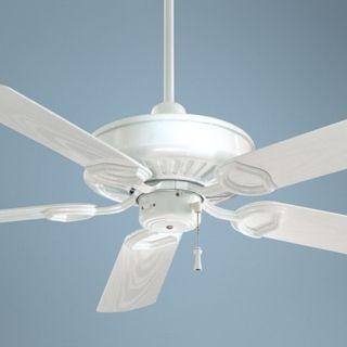 """54"""" Minka Aire White Sundowner ENERGY STAR Ceiling Fan   #28358"""