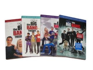 The Big Bang Theory Complete Seasons 1 4 1 2 3 4 US Seller