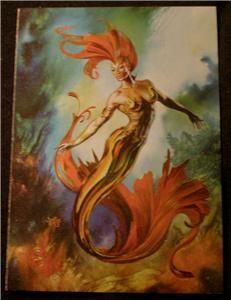 1994 Cardz Julie Bell Fantasy Art Tekchrome Card T10