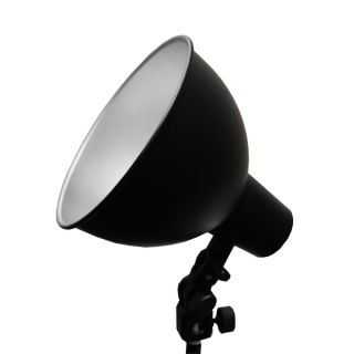 Julius Studio Photography 7 5 Wide Bowl Reflector Light Bulb Adapter