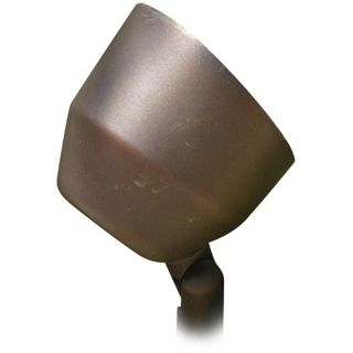 Brass Acid Rust Bullet Low Voltage Landscape Light   #59762