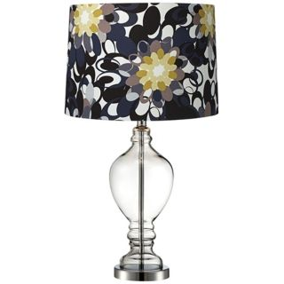 Black and Olive Apothecary Urn Glass Table Lamp   #V2844 T7093