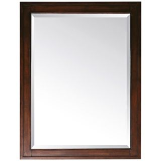 "Madison Tobacco 32"" High Rectangular Wall Mirror   #R8968"