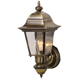 Artisan Antique Brass ENERGY STAR Outdoor Wall Light   #H6928