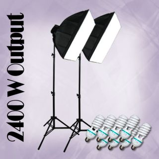 Julius Studio Big Softbox Lighting Light 2400W Studio Bulb Photo Light
