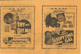 in flyer Eddy Arnold Judy Canova Lloyd Bridges John Wayne Tampa FL