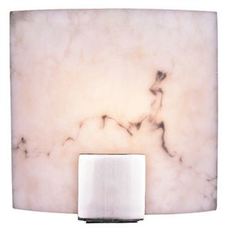 "Fedi 9"" Wide Alabaster Dust Wall Sconce   #24201"