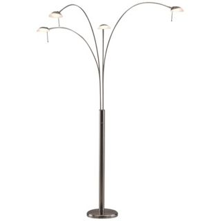 Chrome, Art Deco Floor Lamps