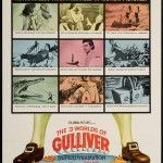 The 3 Worlds of Gulliver 1960 Original U s One Sheet Movie Poster