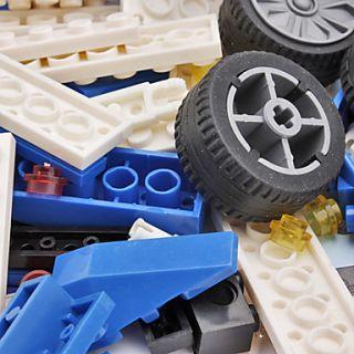 DIY 3D Puzzle Super Racing Car bloquea ladrillos de construcción de