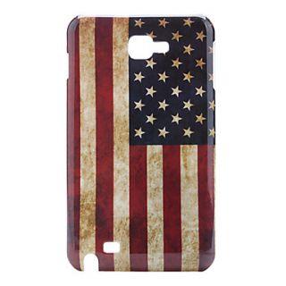 Retro USA Flag Design Case for Samsung i9220