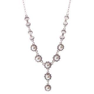 EUR € 5.88   Tempestato di diamanti Collana di perle, Gadget a