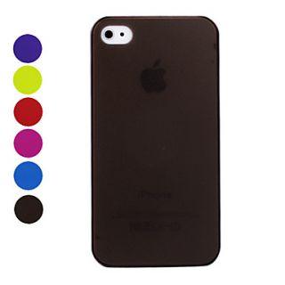 Descripción: Carcasa Ultra Delgada de Acabado Mate para el iPhone 4
