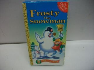 Frosty The Snowman VHS CBS Original Television Show WOW