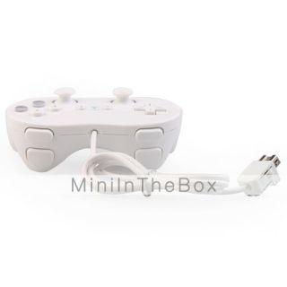 EUR € 9.19   clásico pad de control con cable para wii (blanco