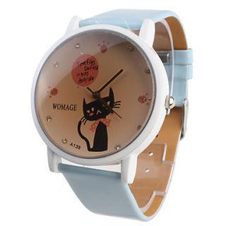 EUR € 4.41   mulheres cartoon menina gato assistir azure pulseira