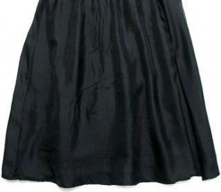 New Jean Paul Junior Gaultier Kids Girls Black Silk Tunic Top 10 Years