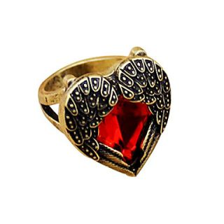 USD $ 4.99   Retro Angel Wings Ring,