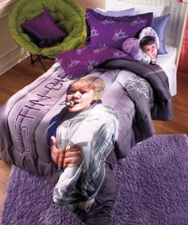 Justin Bieber Comforter Set Your Choice Twin and Full Sets