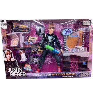 Justin Bieber Accessory Set with Doll Black