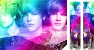 Justin Bieber Wii Skins New Design Laminated 4 Easy Fit