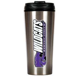 Kansas State Wildcats NCAA 16oz Insulated Stainless Steel Travel