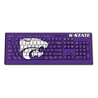 Kansas State Wildcats Wired USB Keyboard New