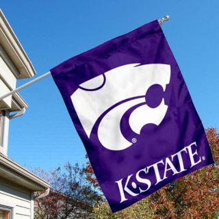 Kansas State Wildcats KSU University College House Flag